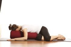 This gentle spinal twist is great for your entire back, you can take the top leg back a little more if you wish to go deeper #reviverestorerenew
