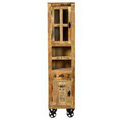 Badmöbel badezimmer hochschrank günstig SIT Rustic Hochschrank 1905-04 natur antik mit antikschwarzen Beschlägen Jetzt bestellen unter: https://moebel.ladendirekt.de/bad/badmoebel/badezimmerschraenke/?uid=d162c7e3-d911-5dab-b220-e0fe84c67aba&utm_source=pinterest&utm_medium=pin&utm_campaign=boards #möbel #günstig #bad #badmoebel #kaufen #online #badezimmerschraenke #designer #sit