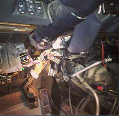 Investigation #steeringcolumn circuitry at #AplusAutoElectric