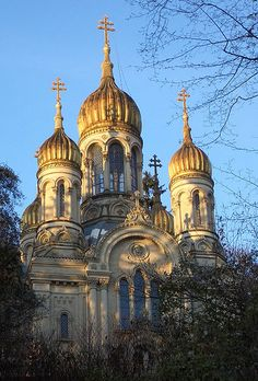 Russian Orthodox Church of Saint Elizabeth in Wiesbaden, Germany