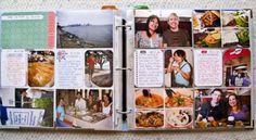 Project Life Scrapbook... no scissors, no glue, no mess, no fuss. My kinda scrapbook for sure!