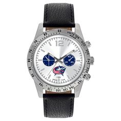 Men's Game Time NHL Letterman Sports Watch - Black -