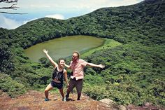 During our stay on Nicaragua's Isla de Ometepe, we cruised the beach, hiked a volcano, and rented bicycles to visit a mineral spring. Ometepe, Golf Courses, Cruise, Hiking, Travel, Bicycles, Beaches, Wanderlust, Bucket