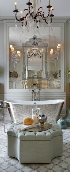 Pin de Mableu0027s Bath en Bathoorm Essentials Pinterest Inspiración - baos de lujo