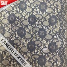 Stretch Lace Fabric with Nylon and Spandex