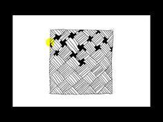Zentangle Patterns | Tangle Patterns - Wisket - YouTube