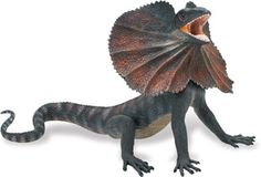 Safari Ltd. Incredible Creatures® Frilled Lizard#260529. USD 17.99. Extra large, soft, playful, true-to-life vinyl replicas of some of the most amazing creatures in the world. Excellent learning tool to introduce young children to our delicate and often endangered inhabitants of our planet. A fun way to spark the innate curiosity of a child. Each replica is finely hand painted and accurate down to the last detail. Educational information in five languages is included with each replica.