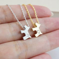 Personalised Dog (Puppy) Necklace - Earrings Nation