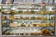 deli display, photo: Tom Blanchford: