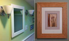 concealed medicine cabinet with mirror