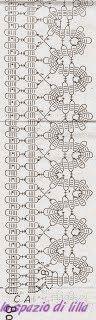 lo spazio di lilla: Album di schemi con pizzo di Bruges all'uncinetto / Bruges Crochet lace free patterns