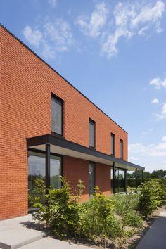 moderne woning - ontwerp architectenbureau Sarah Theeuws bvba - fotografie liesbet goetschalckx