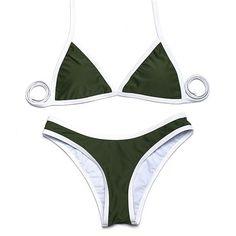 210f1a627c Trangel High Cut Bikinis New Arrival Sexy Women Bikini Swimwear Solid  Beachwear Brazilian Bikini Set Eg500