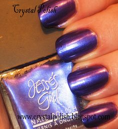 Blue Moon by Jesse's Girl: Deep purple with blue shimmer. New $3.00