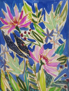 Image of Redux Print: Flowers for Stephanie Lulie Wallace