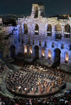 Herodion Atticus Theatre, Athens, Greece