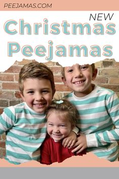 Peejamas first-ever Christmas prints! These Peejamas don't only come in two new colors, but also design. Made with the same absorbent function in mind, but accommodating the colder weather, we chose to make these pajamas with a soft flannel bamboo finish rather than our standard plush velour. That means you'll get the same absorbency and quality of our bamboo fabrics, just with a different feel. #PottyTrainingClothTrainers #OvernightPottyTrainingPants #NighttimePottyTrainingPants