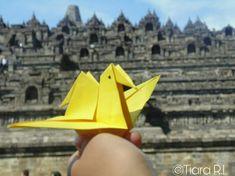 Borobudur Temple  #borobudurtemple #art #origami #aesthetic #indonesia #centraljava #magelang