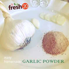 homemade garlic and onion powder