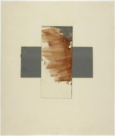 Artwork page for 'Cross', Joseph Beuys, 1961 Beuys Joseph, Artistic Installation, Philadelphia Museum Of Art, Conceptual Art, Art Plastique, Land Art, Oeuvre D'art, Painting & Drawing, Pop Art