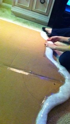 Craft Project Ideas: $30 DIY headboard