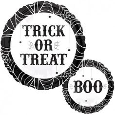 Trick or Treat Boo foil balloon http://www.wfdenny.co.uk/p/treat-or-treat-boo-foil-balloon/5790/