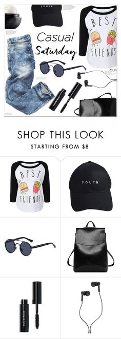 """""""Casual Saturday"""" by mycherryblossom ❤ liked on Polyvore featuring Eos, Bobbi Brown Cosmetics and Master & Dynamic"""
