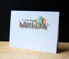 Birthday Card - papertrey ink