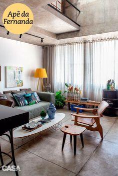 Duas maneiras de decorar: os apartamentos das gêmeas vizinhas de porta - Casa