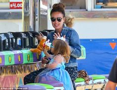 Dun in the sun! F1 heiresses Tamara Ecclestone and Petra Stunt were making the most of the Labor Day celebration in Los Angeles on Monday - treating their daughters to a day out