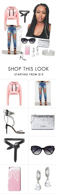 """Casual day out"" by nicolettebenner ❤ liked on Polyvore featuring Alexandre Vauthier, Love Moschino, Isabel Marant, La Perla, Kate Spade and Steve Madden"