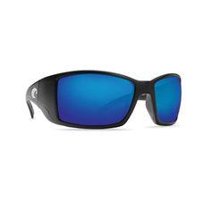 NIB Costa Del Mar Saltbreak Polarized Sunglasses Crystal//Green Mirror 400G Glass