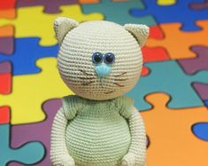 PATTERN Cat Lady crochet pattern amigurumi by CrochetfromYvett