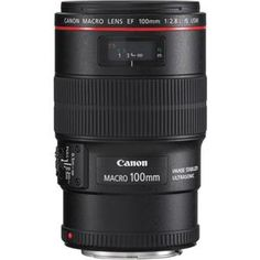 Canon EF 100mm f/2.8L IS USM Macro Auto Focus Lens | PERFECT FOR NATURE/ OUTDOOR PHOTOGRAPHY