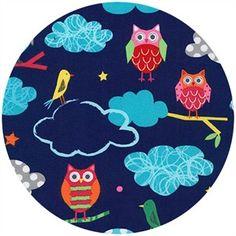 Tecidos Robert Kaufman: GARDEN por Amy Schimler-Safford de Creatures and Critters 3 Amy, Critters 3, Owl Wallpaper, Tent Fabric, Novelty Fabric, Robert Kaufman, Modern Fabric, Couture, Fabric Crafts