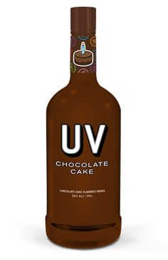 UV #Chocolate Cake Vodka oh my!
