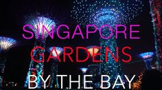 The show FANTASTIC GIANT TREES in SINGAPORE | СИНГАПУР ШОУ ВОЛШЕБНЫХ ДЕР...