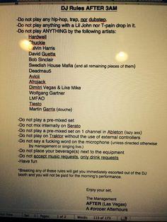 "Rules for DJ´s in Miami Club will ban ""Mainstream Records"" And ""Lazy Artists"" Dj Music, Dance Music, I Love Music, Avicii, Learn To Dj, Dj Images, Las Vegas, Miami Club, Swedish House Mafia"