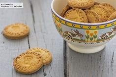Galletas de mantequilla sin gluten Vegan Gluten Free, Gluten Free Recipes, Pasta Sin Gluten, Donuts, Gluten Free Cookies, Organic Recipes, Free Food, Sweet Recipes, Sugar Free