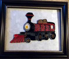 Locomotive - Tranquillity Quilling Designs by Djay