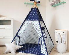 Teepee , Childrens teepee, Wigwam, Kids Teepee, Playhouse, Tee pee, Kids teepee tent, play tents, teepee for kids, zelt, tipi