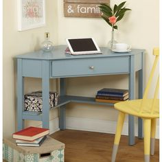 Corner Writing Desk - Walmart.com - perfect for a small space! | For ...