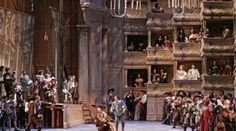Cyrano de Bergerac Set Design by Peter J. Davison Directed by Francesca Zambello Design Set, Set Design Theatre, Stage Design, Cinema Theatre, Theatre Stage, Musical Theatre, Teaching Theatre, Calamity Jane, Stage Set
