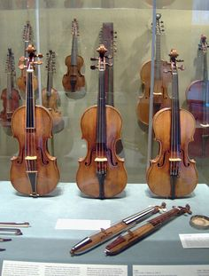 Three Stradivarius. The Gould, the Francesca and the Antonius. The original Stradivarius violin was designed to be tuned to 432 hz!