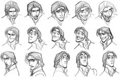 Tangled Characters Concept Artwork 23 #Rapunzel #Tangled