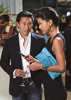 Daniel Dae Kim and Grace Park on Hawaii Five-0 from the episode Manao.