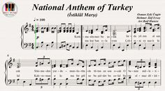 National Anthem of Turkey (İstiklâl Marşı), Piano (Piyano) https://youtu.be/icqzLDCaFaI