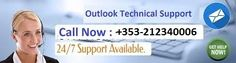 We are offering Outlook support number Ireland +353-212340006 to fix all your technical issues with Outlook. Call us at given number and get quick support by well trained technicians. Our Outlook technical support Ireland team is ready 24*7 to help you with Outlook problems. So don't get late just make us a call and enjoy the services of Outlook.