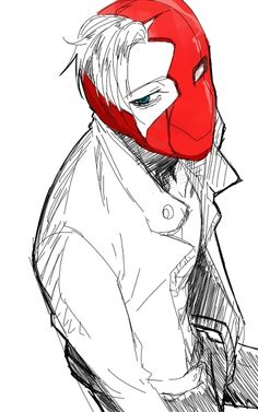 Jason Todd as the Red Hood