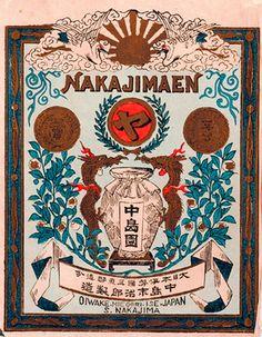 By Yokkaichi Printing Vintage Packaging, Vintage Labels, Vintage Ads, Vintage Posters, Vintage Designs, Packaging Design, Japan Design, Art Design, Retro Design